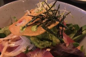 Tuna Avo Salad - delivery menu