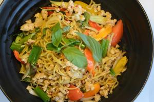Drunken Chow Mein Noodle - delivery menu