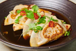 Pan Seared Shrimp Dumplings - delivery menu