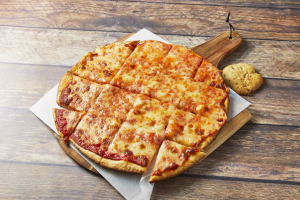 "Medium 12"" Thin Crust Cheese Pizza - delivery menu"