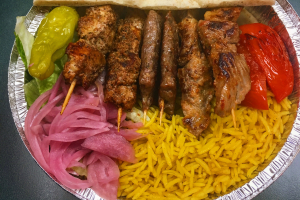 Mixed Shish Kebab Platter - delivery menu