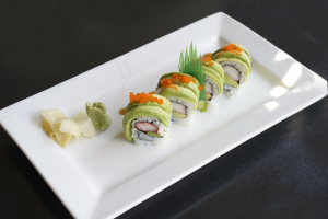 Green Dragon Roll - delivery menu