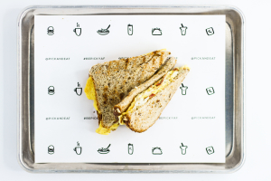 3 Golpes Breakfast Sandwich - delivery menu