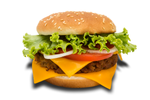 1. Cheese Burger Combo - delivery menu