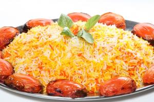 Saffron Rice - delivery menu