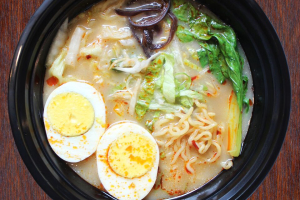 N3 Veggie Ramen with Egg - delivery menu