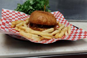 Shredded BBQ Beef Burger - delivery menu