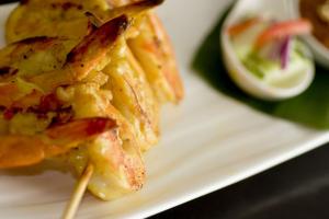 4 Piece Satay Tofu - delivery menu