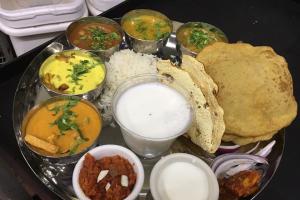 Special Thali - delivery menu