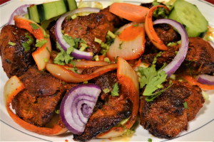 LAMB TIKKA  (MAIN COURSE) - delivery menu