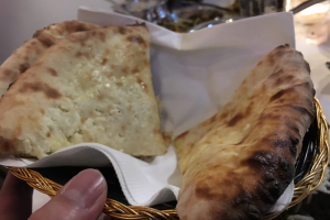 Cheese Naan  - delivery menu