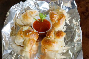 A4. Garlic Knots - delivery menu