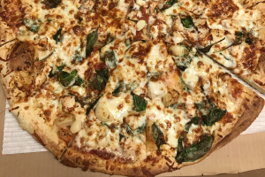 15. Chicken Marinato Pizza - delivery menu