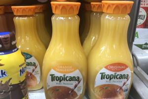 59 oz. Tropicana Juice - delivery menu