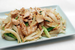 Sauteed Ginger - delivery menu