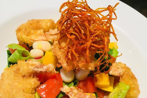 1. The Inkan Salad - delivery menu