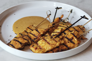 Grilled Chicken Satay Skewer - delivery menu