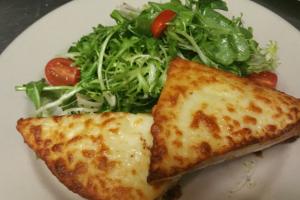 Lunch Croque Madame Sandwich - delivery menu