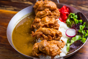 Crispy Chicken Japanese Curry - delivery menu