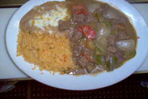 Steak Ranchero Dinner - delivery menu