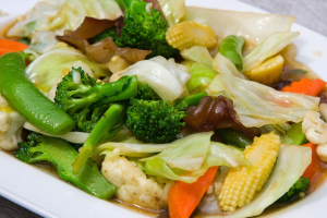 85. Chicken with Mixed Vegetables - delivery menu