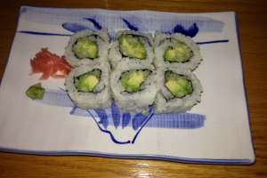 Avocado and Cucumber Roll - delivery menu