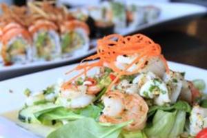 Seafood Salad with Lemongrass - delivery menu