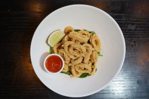 A10. Crispy Fried Calamari - delivery menu