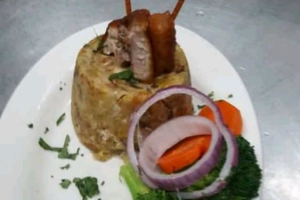 Mofongo de Chicharron - delivery menu