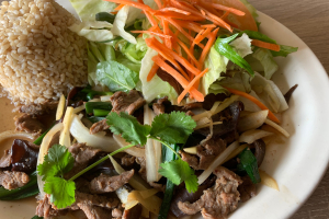 Sauteed Ginger Lunch Special - delivery menu