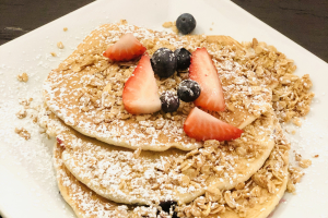Mixed Berry Pancakes - delivery menu