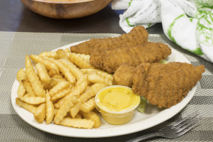 Boneless Chicken Fingers Platter - delivery menu