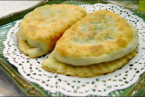 Chinese Chives Pie - delivery menu