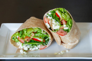 Fields and Feta Wrap - delivery menu