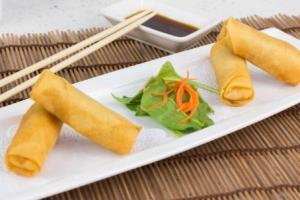 Vegetable Spring Roll - delivery menu