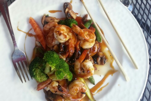 Shrimp Teriyaki - delivery menu