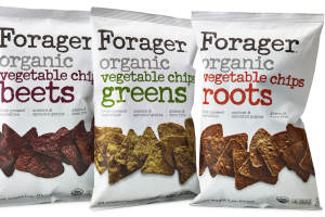 Forager Organic Vegetable Chips - delivery menu
