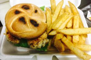 Caprese Chicken Sandwich - delivery menu