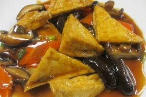 K21. Braised Tofu in Brown Sauce - delivery menu