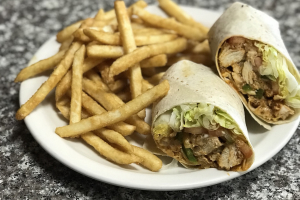 Chicken Cheesesteak Wrap - delivery menu