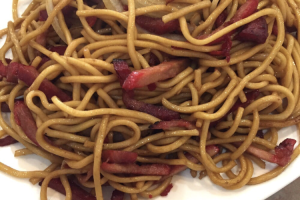 126. Barbecued Pork Chow Mein - delivery menu