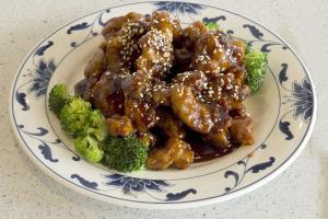 Regular Sesame Chicken Entree - delivery menu