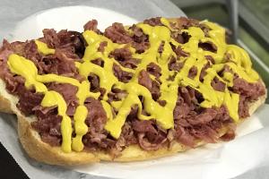 Hot Pastrami Sub - delivery menu