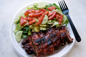 1/2 Baby Back Ribs Meal - delivery menu