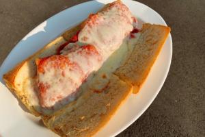 Chicken Parmigiana Hot Hero - delivery menu