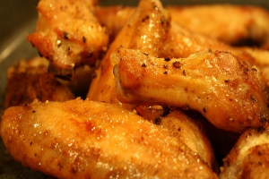 Salt and Pepper Chicken Wings - delivery menu