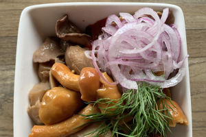 Pickled Mushrooms  - delivery menu