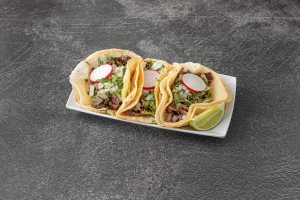 3 Regular Tacos - delivery menu
