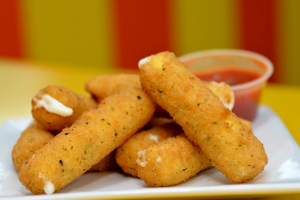 6 mozzarella sticks - delivery menu