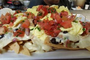 Breakfast Nachos - delivery menu